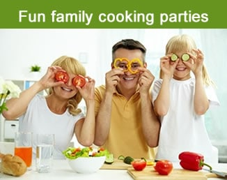 Fun Family Cooking Parties
