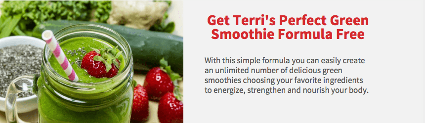 Green Smoothie Image & Text