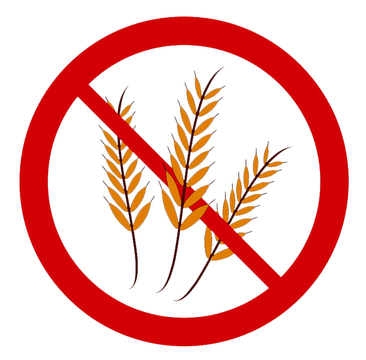Gluten-free symbol no words